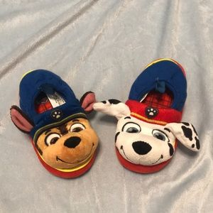 Paw Patrol slippers. Size small 5/6 for babies.